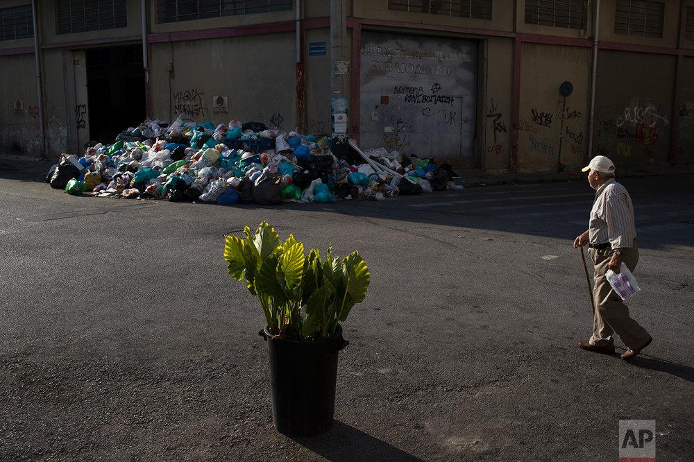 Greece Garbage