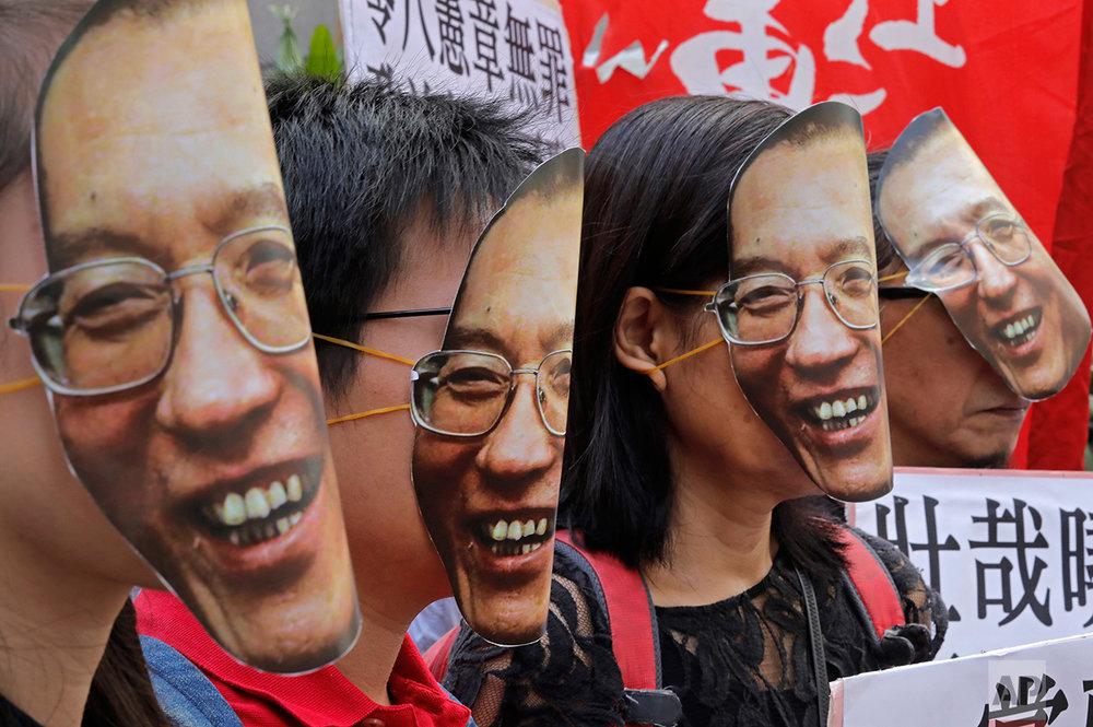 Hong Kong China Jailed Nobel Laureate