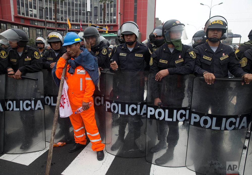 Peru Mining Strike