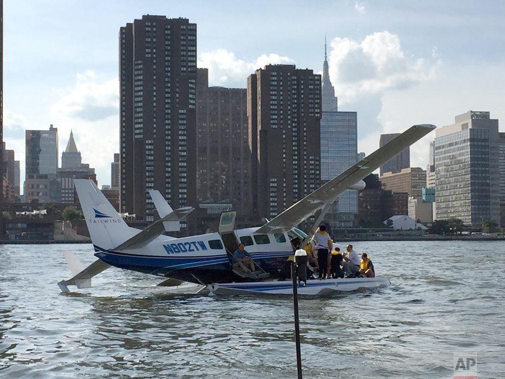 Seaplane Hard Landing