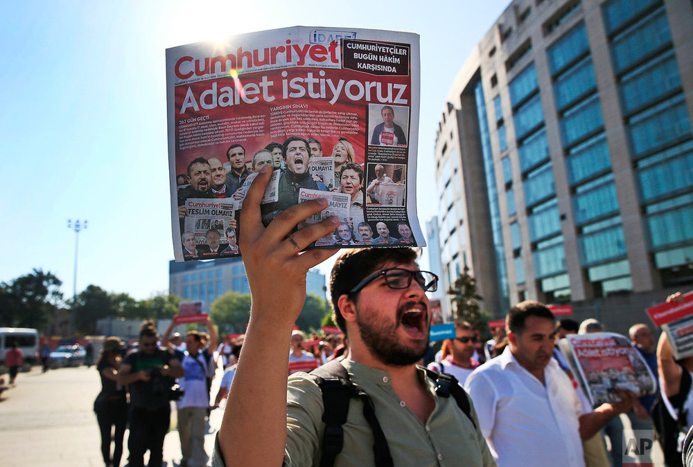 Turkey Journalists Trial