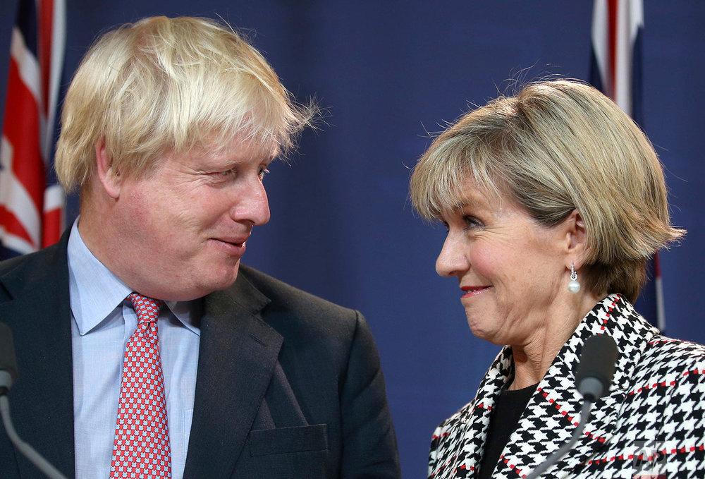 Australia Britain Foreign Secretary