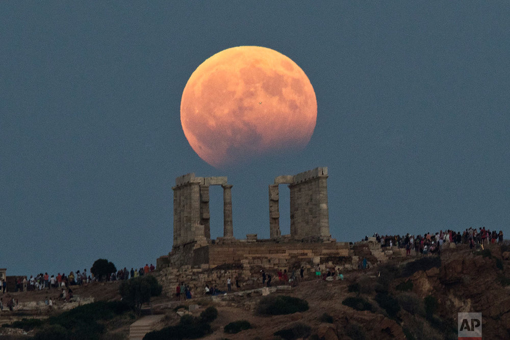 Greece Full Moon