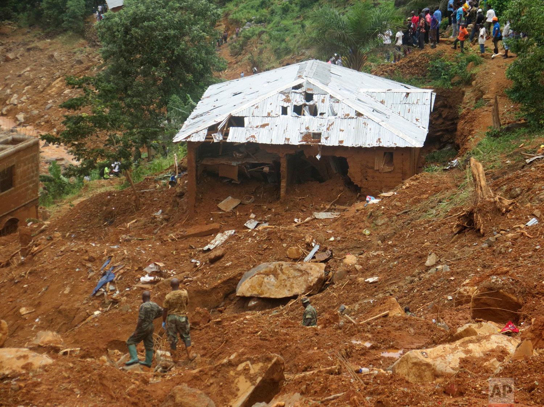 Sierra Leone Mudslides