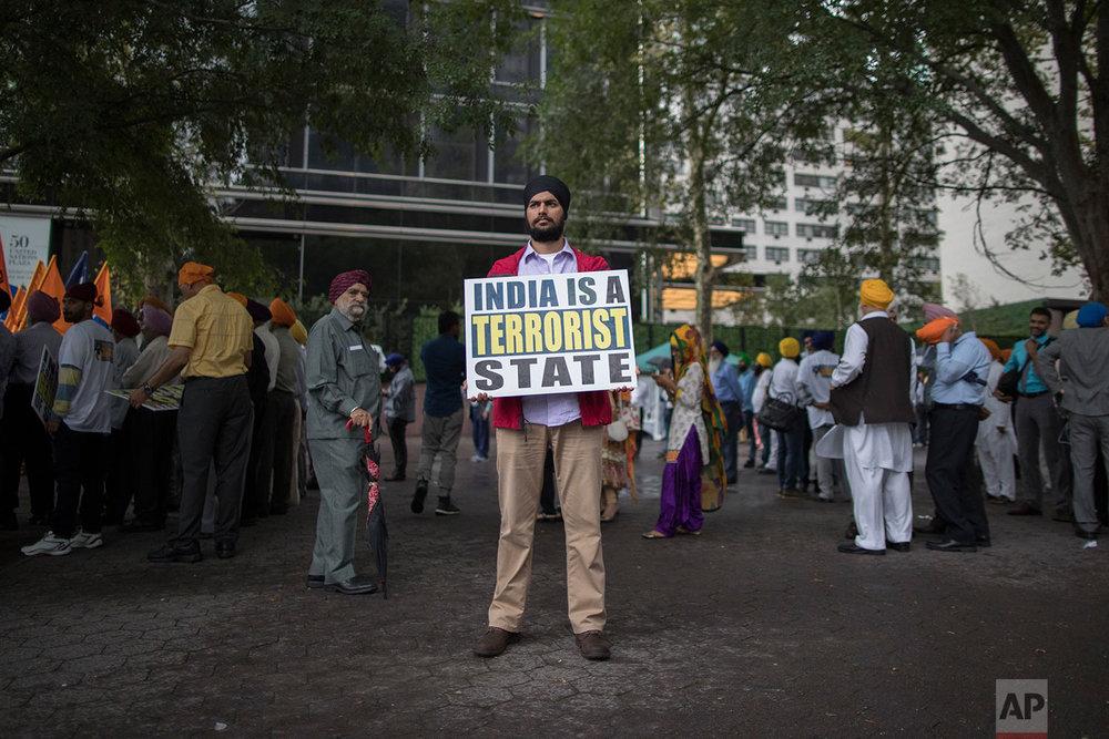 Punjab Sikhs Rally