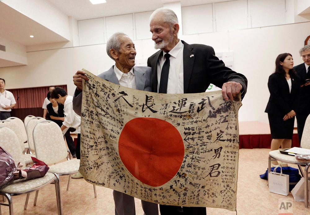 Japan Returning the Flag