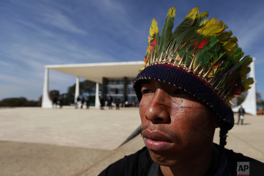 Brazil Indigenous Lands Protest