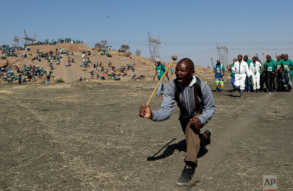 South Africa Marikana Killing