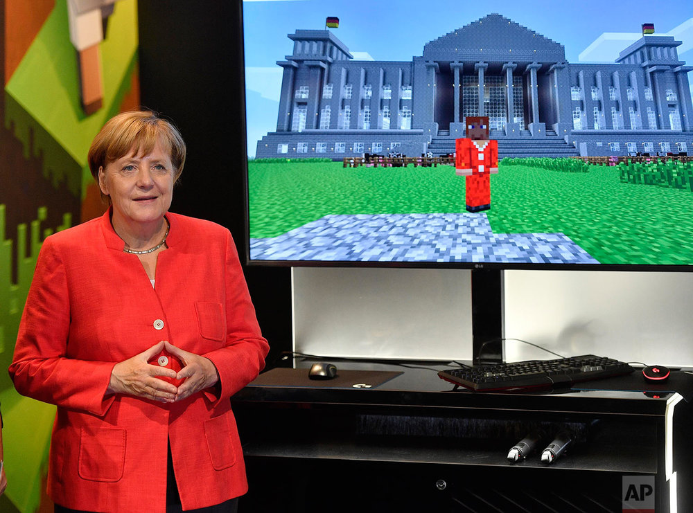 Germany Gamescom Merkel