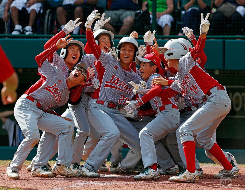 LLWS Canada Japan Baseball