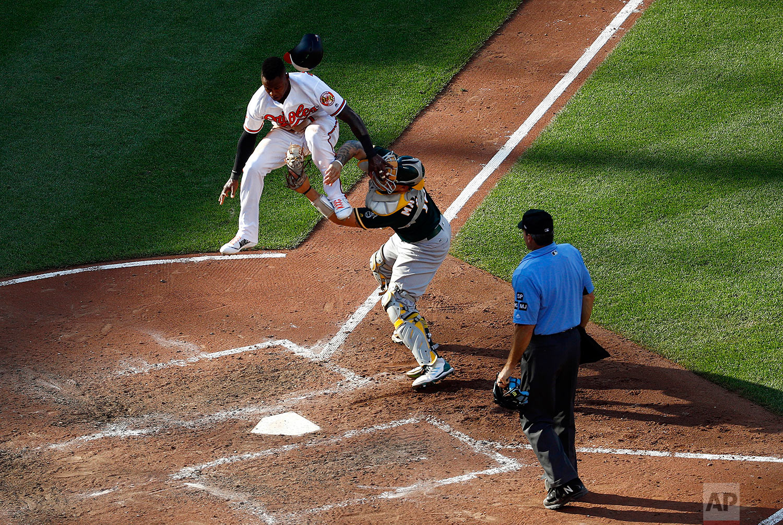 Athletics Orioles Baseball