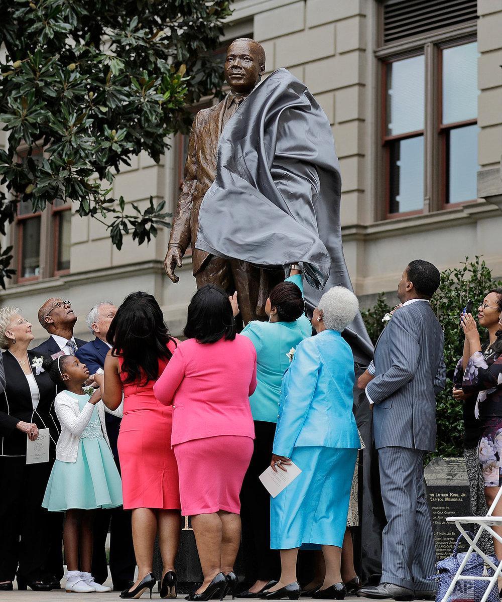 MLK Sculpture