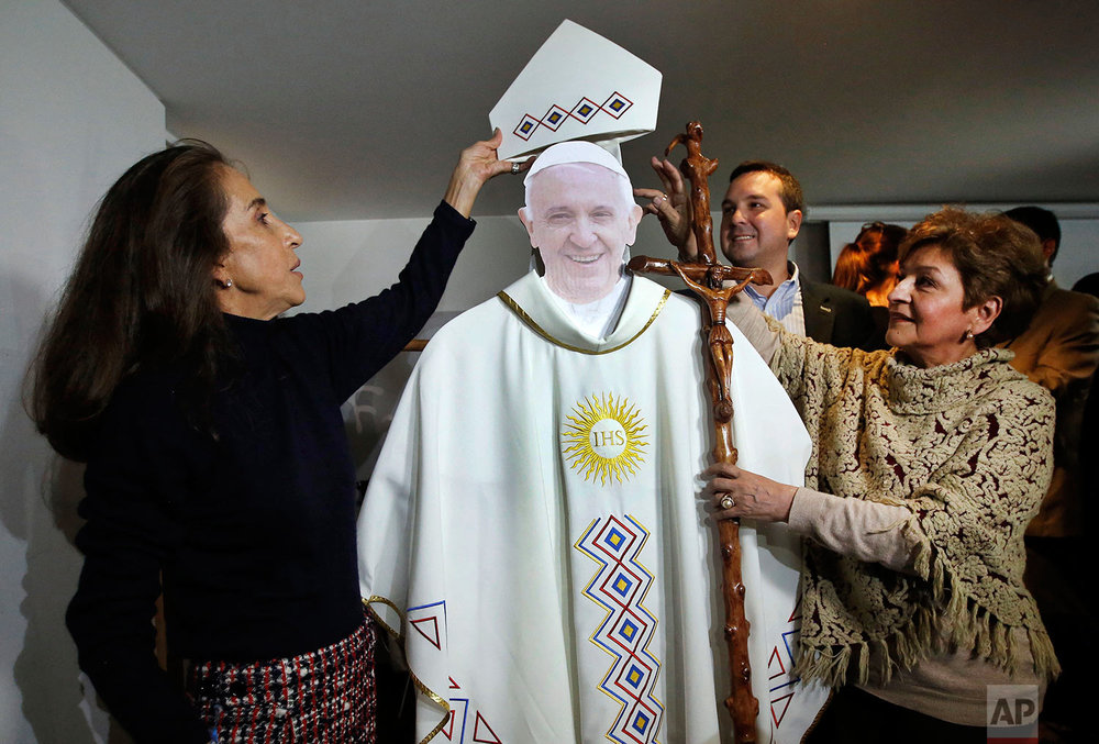 Colombia Pope Visit
