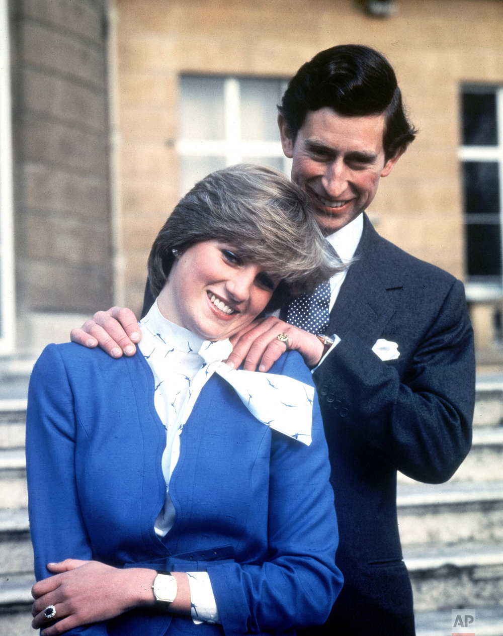 Prince Charles and Lady Diana Spencer in 1981