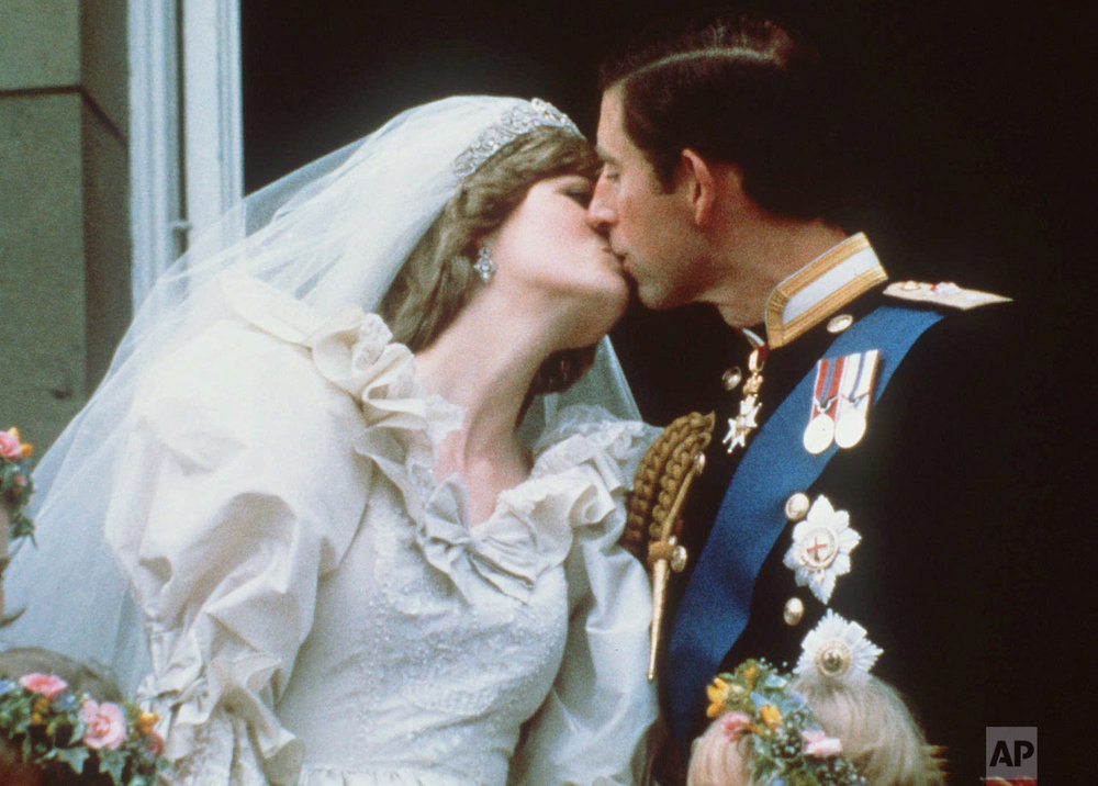 Prince Charles and Princess Diana after their wedding in 1981