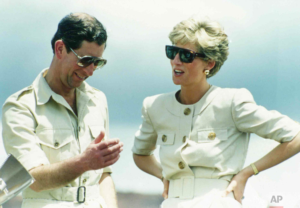 Brazil Prince Charles and Princess Diana in 1991