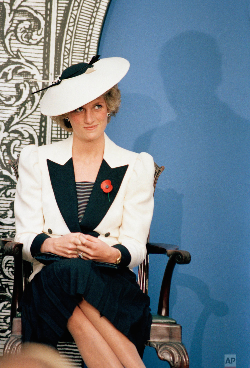 Princess Diana in 1985