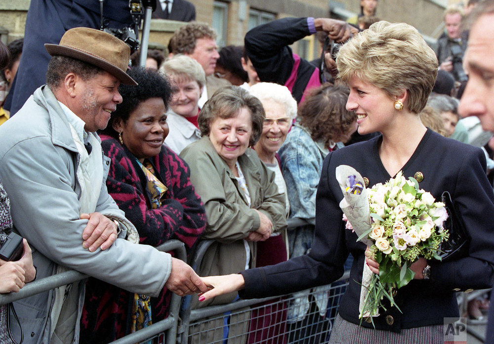 Princess Diana in 1991