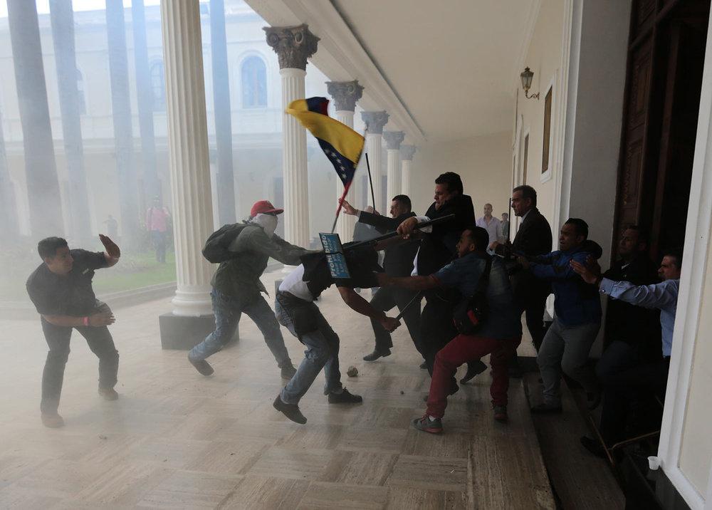 APTOPIX Venezuela Crisis