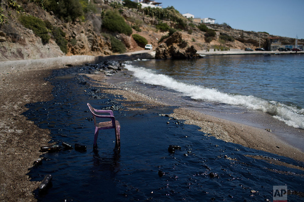 Greece Tanker Pollution