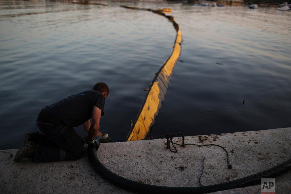 Greece Oil Spill