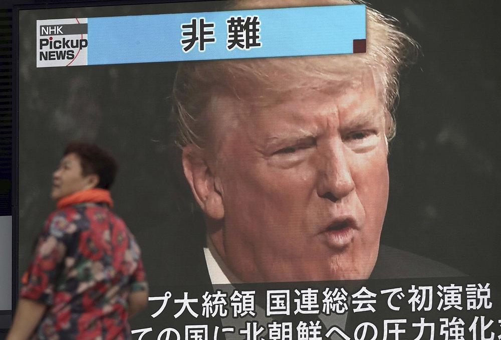 Japan Koreas Tension Trump