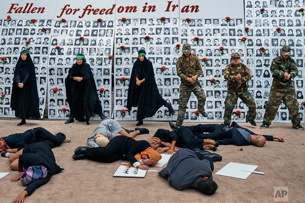 Iran Protest New York