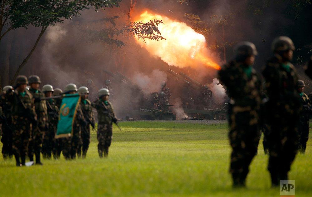 Philippines Duterte Militant Siege