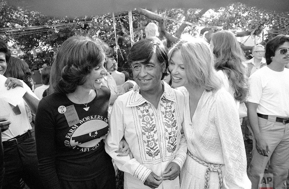 Chavez & Actresses | Oct. 10, 1976