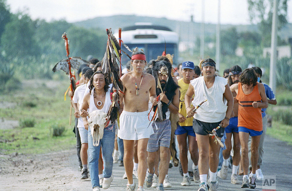 Indigenous Run | Oct. 10, 1992