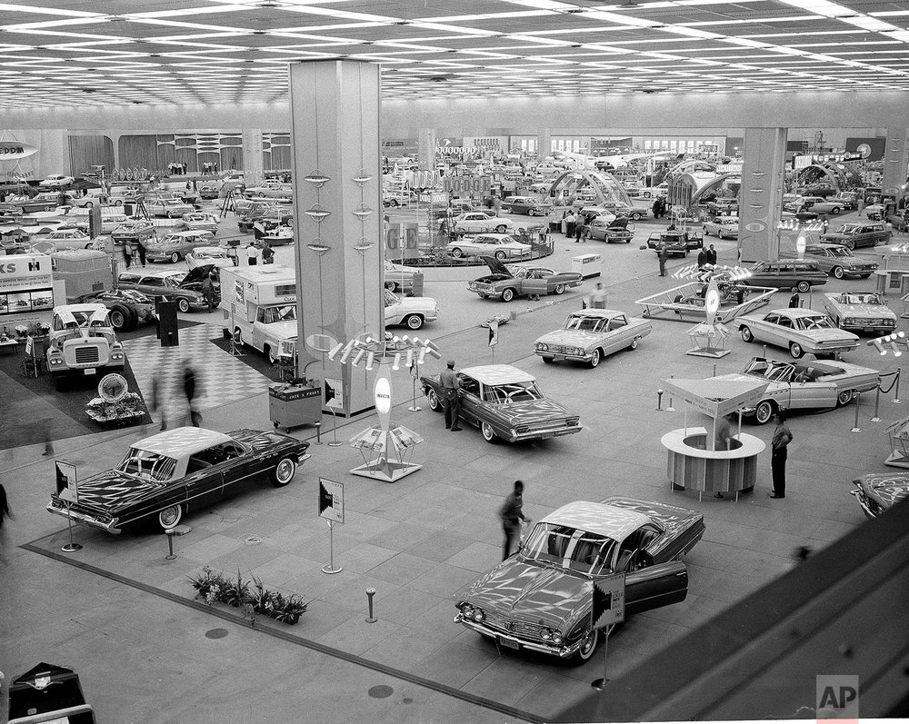 Detroit Car Show | Oct. 14, 1960