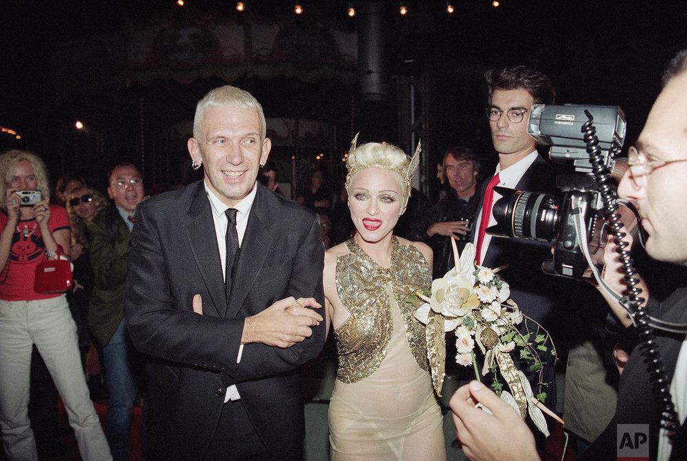 Madonna & Gaultier | Oct. 14, 1994