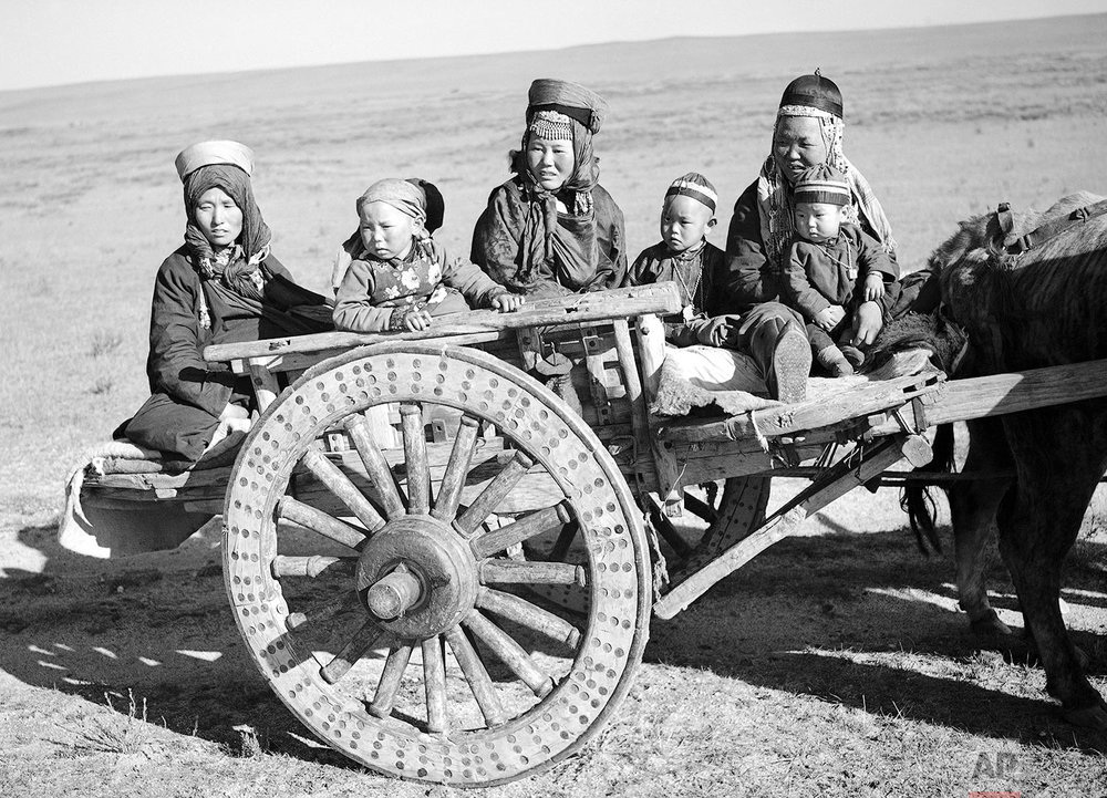Mongolia Ox Cart | Oct. 18, 1936