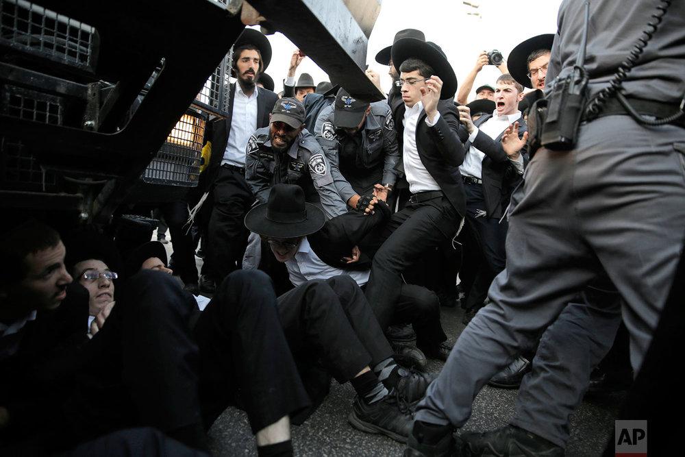 Israel Draft Protest