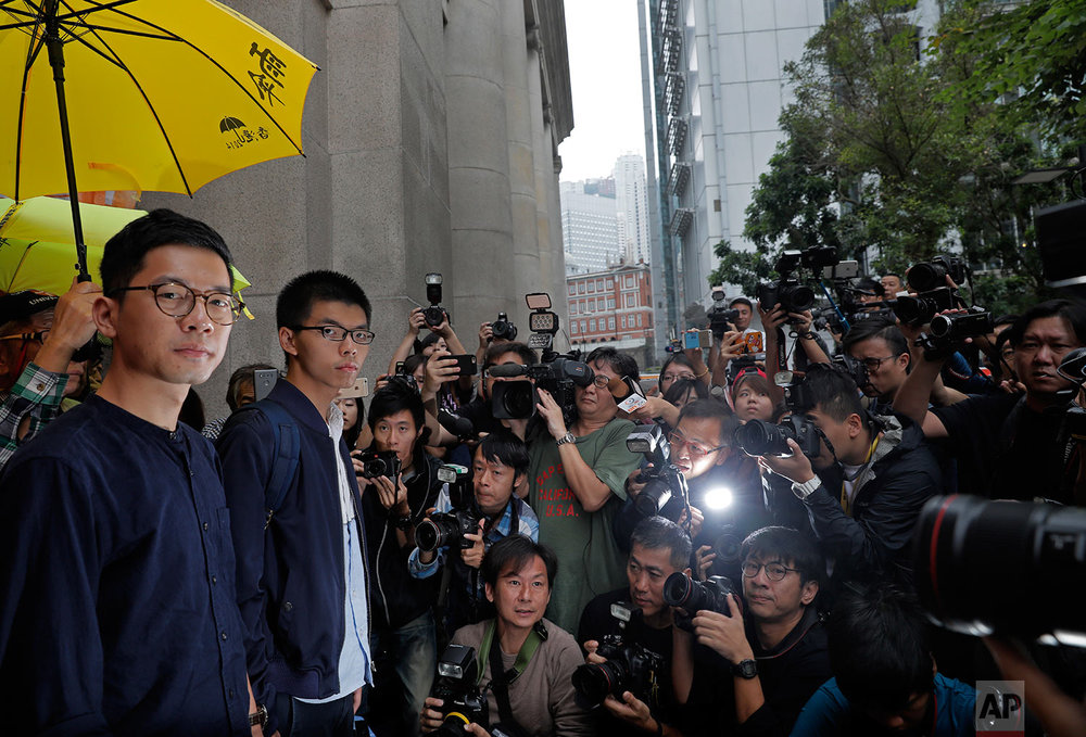 Hong Kong Protest Leader Appeal