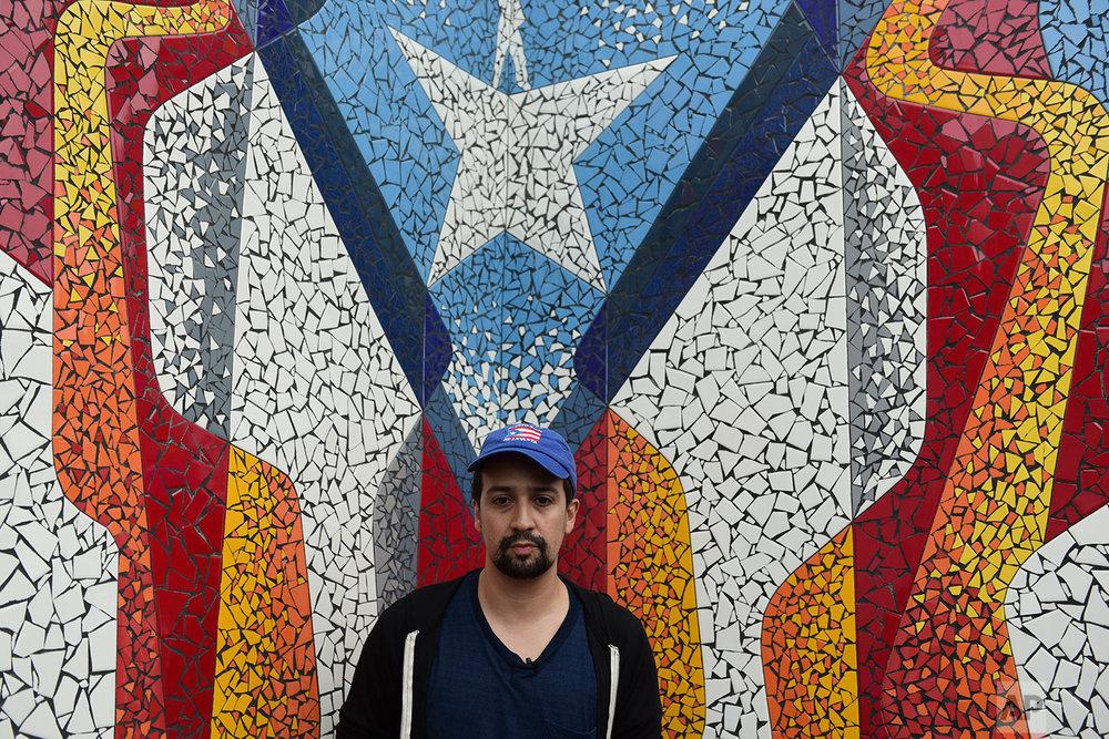 Puerto Rico Lin Manuel Miranda