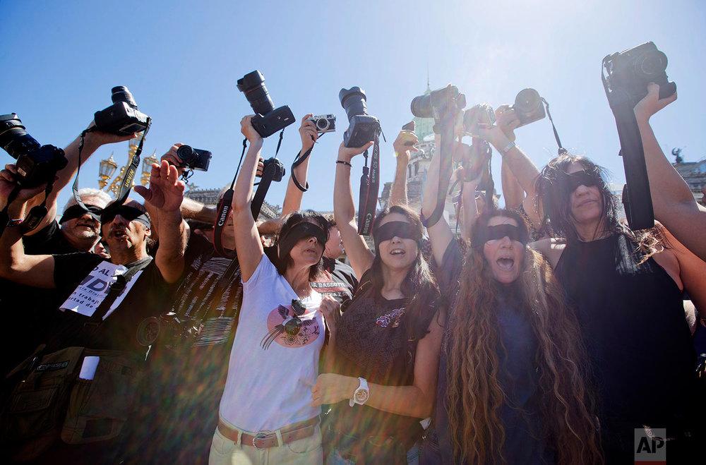 Argentina Journalists Protest