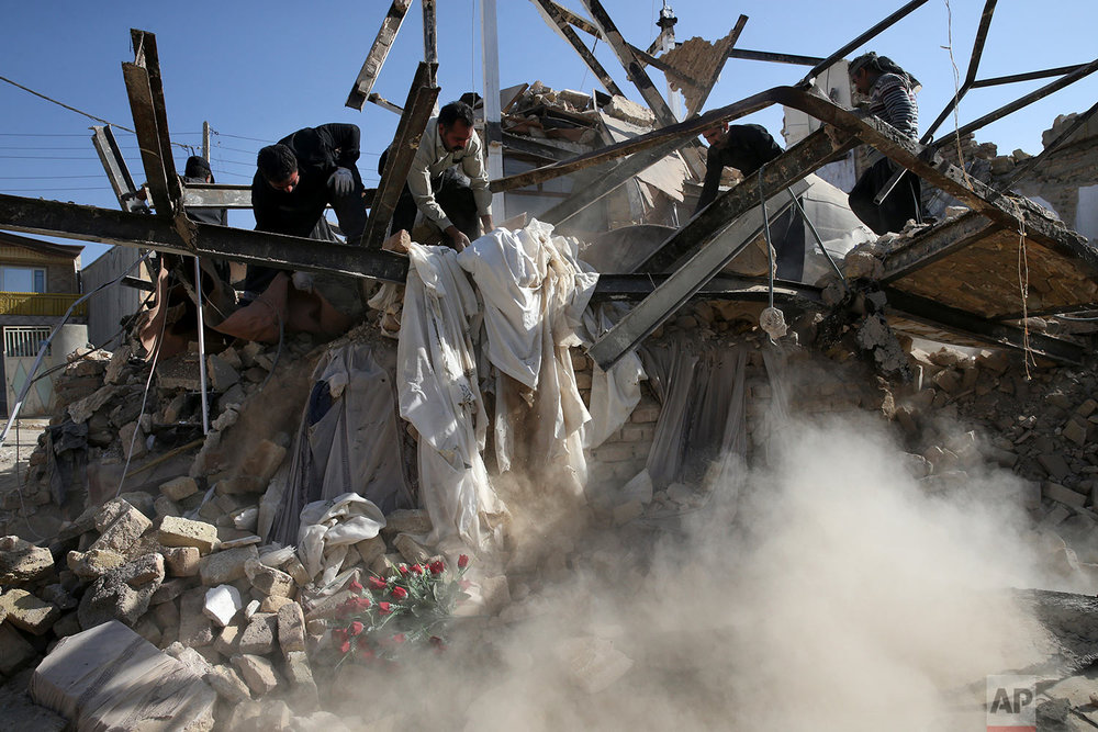 Iran Iraq Earthquake