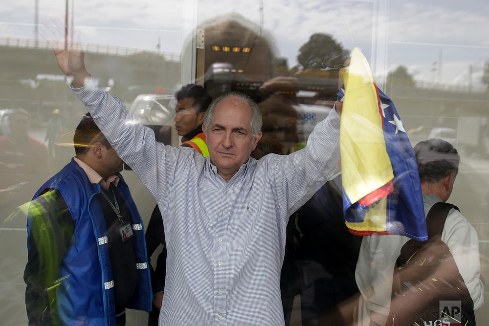 Venezuela Fugitive Mayor