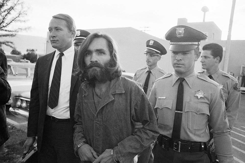 Manson Leaves Court 1969