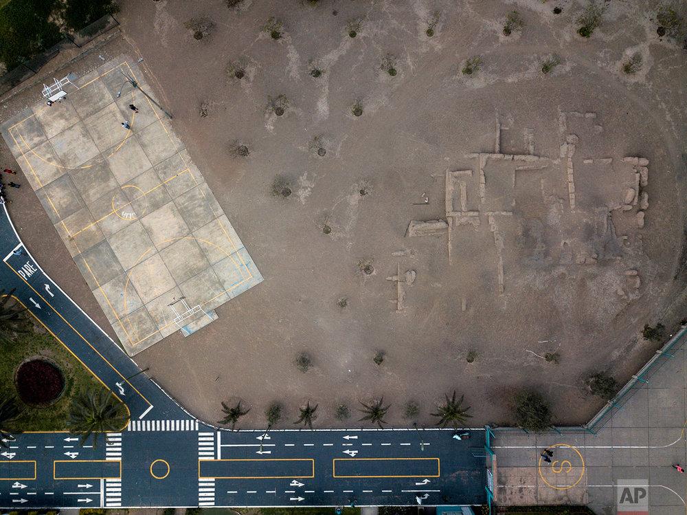 Limatambo, pre-Columbian archeological site, Lima, Peru.