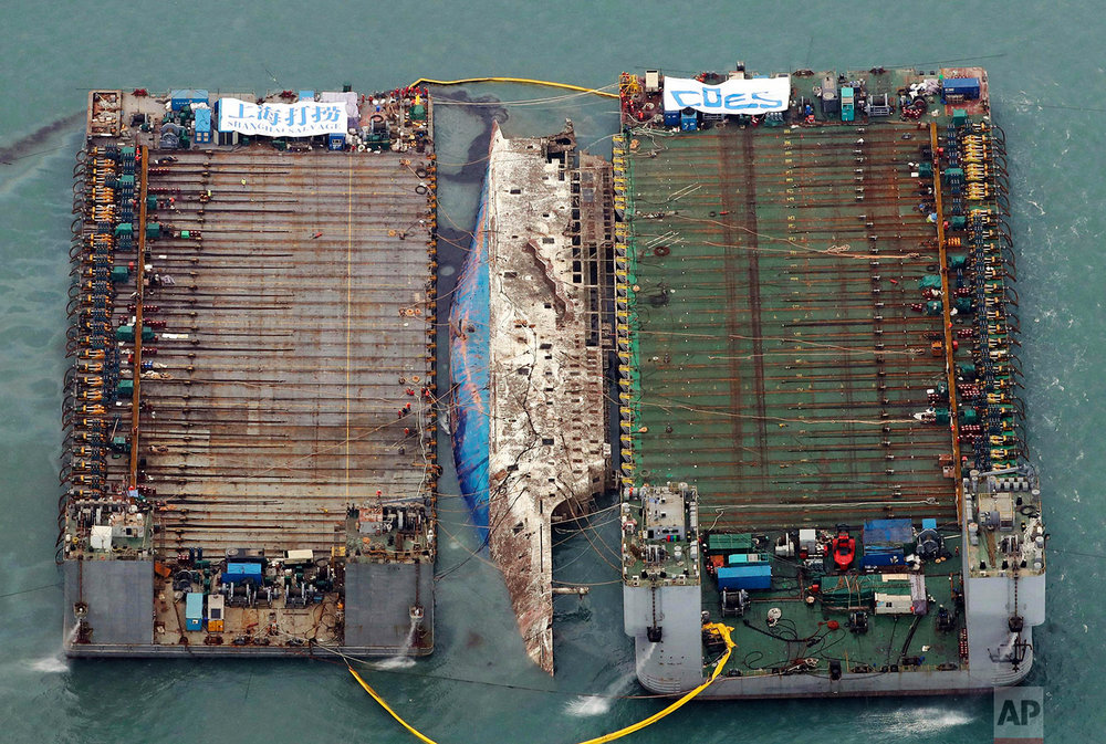 South Korea Ferry Salvage