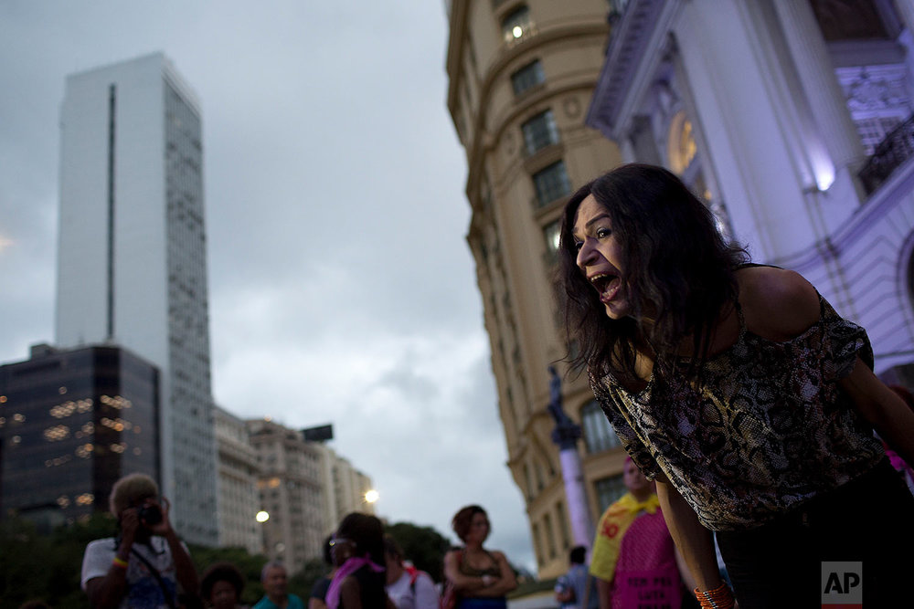 Brazil Violence Against Women Protest