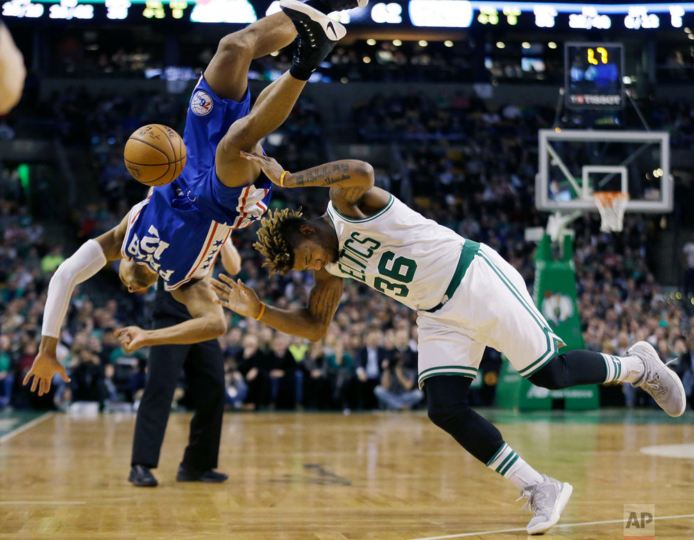 76ers Celtics Basketball