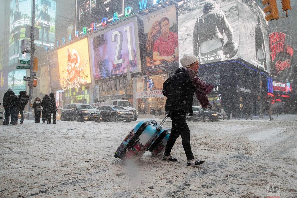 Winter Weather New York City