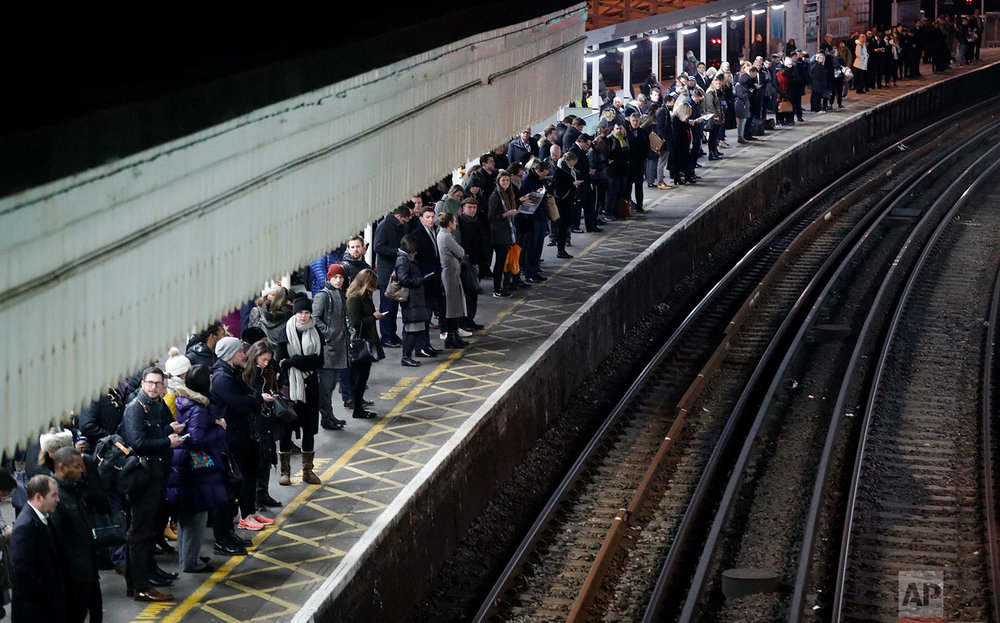 Britain Train Strike