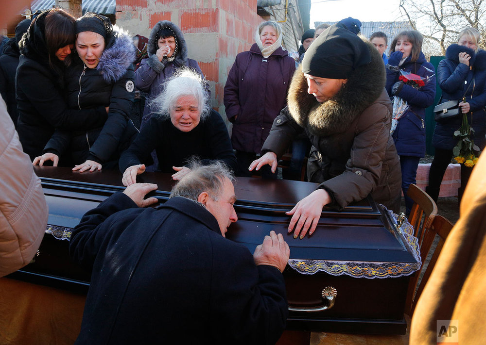 Ukraine Slain Lawyer