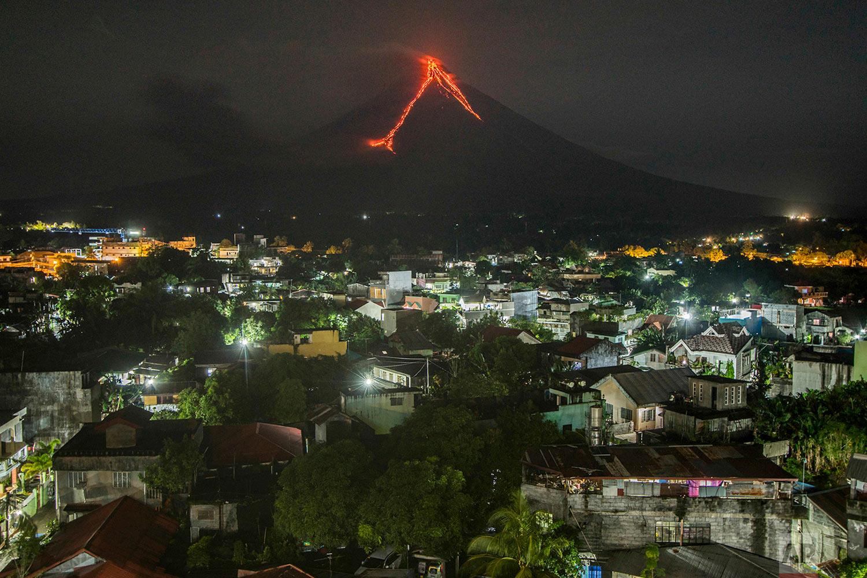 Philippines Volcano