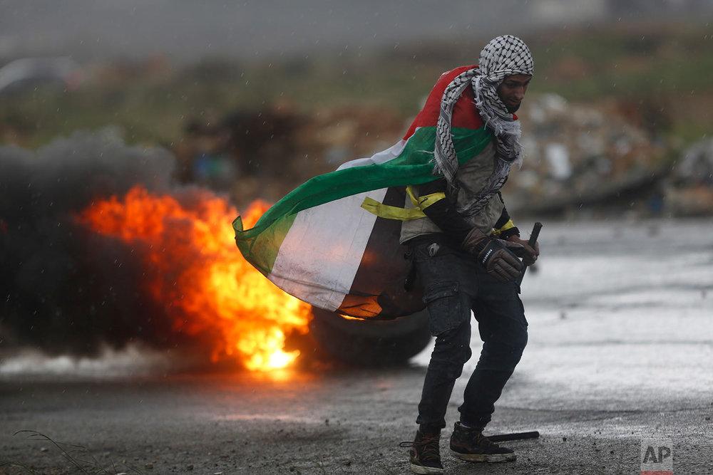 Israel Palestinians Pence