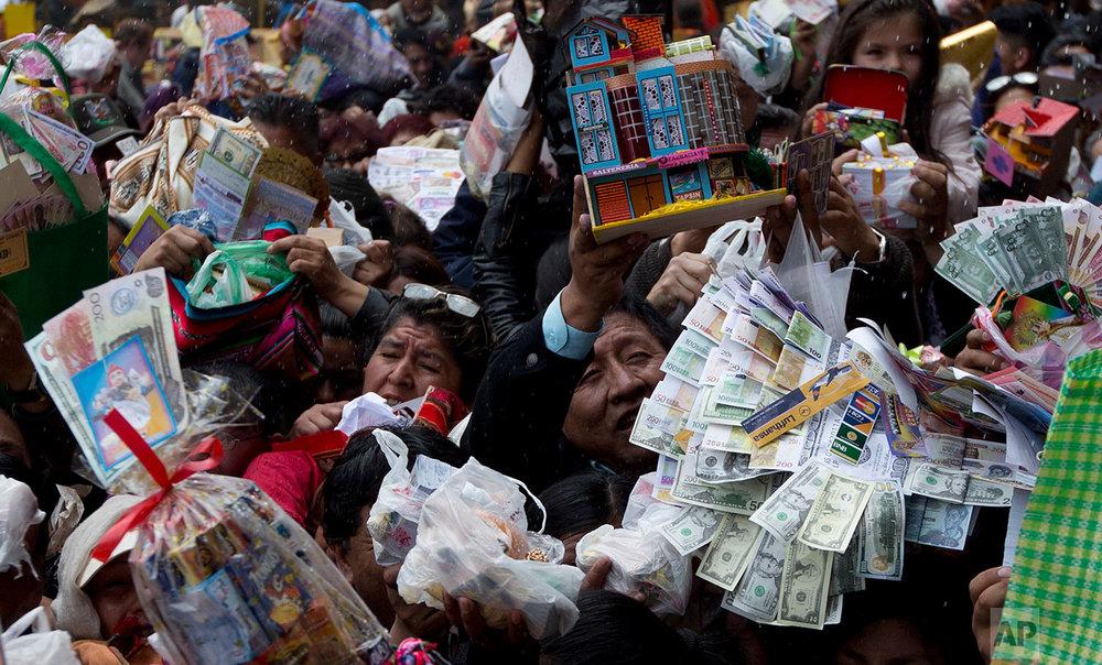 Bolivia Alasita Fair